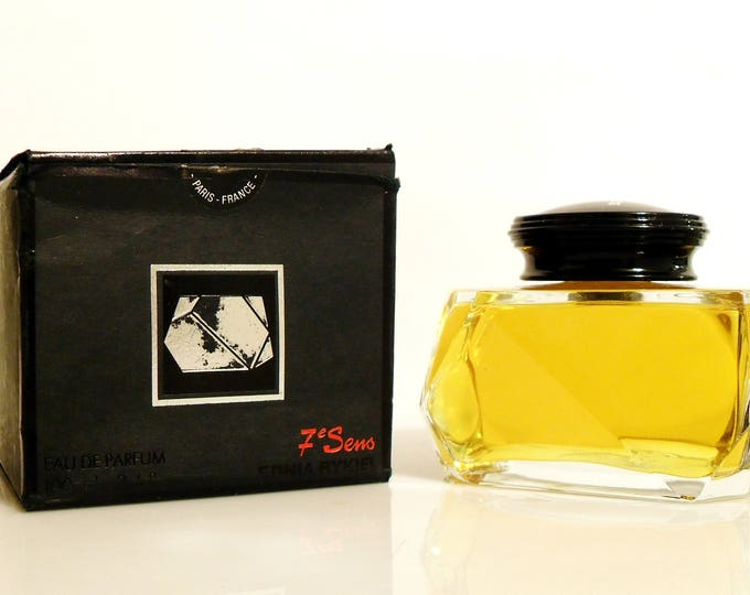 Featured listing image: Vintage Chypre Perfume 1980s Septieme Sens 7e Sens by Sonia Rykiel 3.4 oz Eau de Parfum Splash & Box Discontinued Women's Fragrance