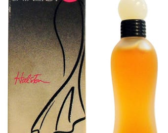 Vintage 1990s Catalyst by Halston 0.125 oz Pure Parfum in Box Signed by Bottle Designer Marc Rosen PERFUME