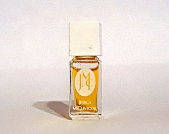 Vintage 1990s Jessica McClintock by Jessica McClintock 1/8 oz Eau de Parfum Splash Mini Miniature Perfume