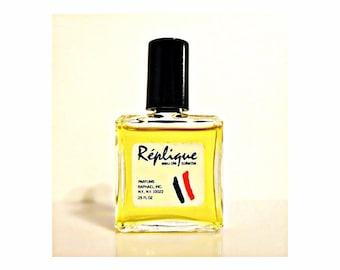 Vintage 1980s Replique by Raphael 0.25 oz Eau de Toilette Miniature Mini PERFUME