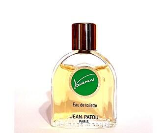 Vintage 1980s Vacances by Jean Patou 0.20 oz Eau de Toilette Mini Miniature DISCONTINUED PERFUME