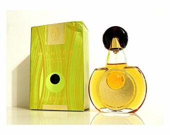 Vintage 2000s Mahora  1 oz Eau de Parfum Spray and Box DISCONTINUED PERFUME
