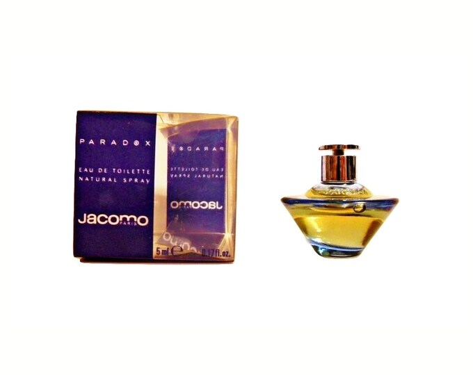 Vintage Paradox by Jacomo 0.17 oz Eau de Toilette Mini Miniature PERFUME