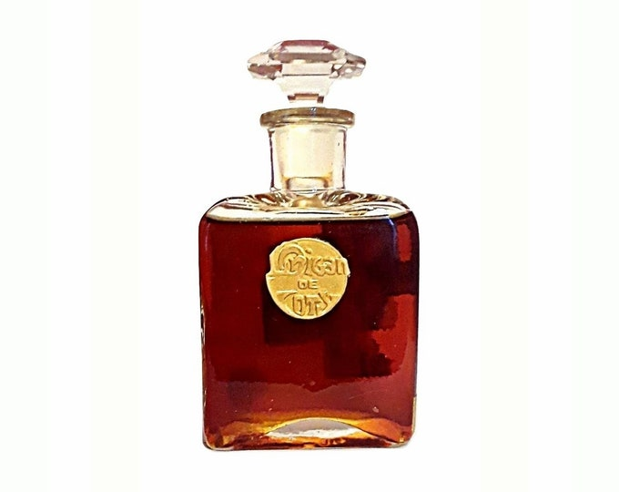 Antique L'Origan Perfume by Coty 3 oz Eau de Toilette Splash Vintage 1919 Original Formula