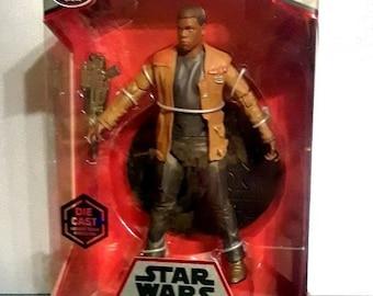 Star Wars FINN Elite Series Die Cast Figure in Box