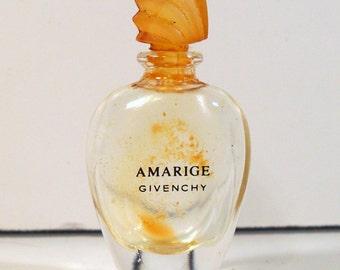 Vintage 1991 Amarige  0.13 oz Miniature Mini PERFUME Bottle