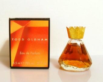 Vintage 1990s Todd Oldham 0.20 oz Eau de Parfum Mini Miniature PERFUME