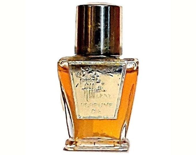 Vintage 1960s Private Affair by Lenel 0.25 oz (7.5ml) Pure Parfum Mini Miniature Bottle PERFUME