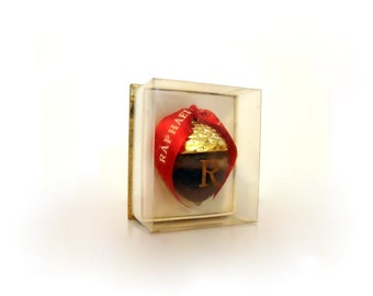 Vintage Perfume 1950s Replique by Raphael 0.25 oz (7.5ml) Pure Parfum Splash and Box Lalique Acorn Flacon Sealed Original Formula