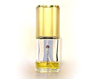 Vintage Perfume 1990s White Linen by Estee Lauder 1.75 oz Parfum Spray Classic Women's Fragrance