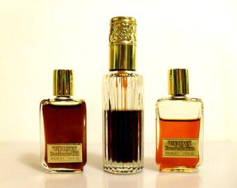 Vintage 1970s Ultima by Revlon Perfume Oil, Eau de Parfum, Eau de Parfum Spray Perfume YOUR CHOICE