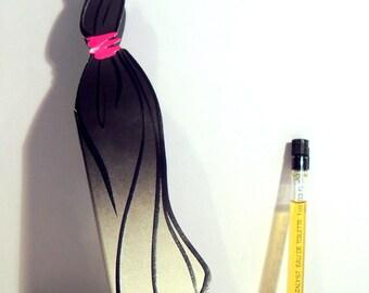 Vintage 1990s Catalyst by Halston 0.03 oz Eau de Toilette Splash Sample Vial on Card PERFUME
