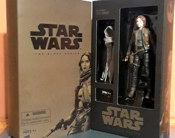 Star Wars Sergeant Jyn Erso SDCC Action Figure in Box