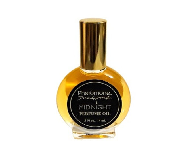 Vintage Pheromone Midnight by Marilyn Miglin 0.5 oz Perfume Oil Splash