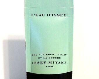Vintage 1990s L'Eau d'Issey by Issey Miyake 0.33 oz Perfumed Shower Gel Sample Packet