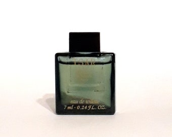 Vintage 1990s Tsar by Van Cleef & Arpels 0.24 oz Eau de Toilette Mini Miniature  MEN'S COLOGNE