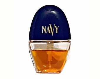 Vintage 1990s Navy by Cover Girl 0.30 oz Cologne Spray Mini Miniature Purse Spray PERFUME