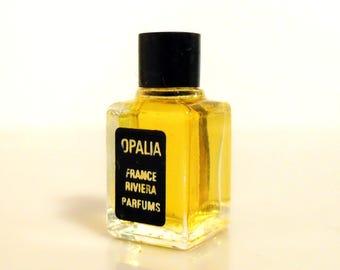 Vintage 1960s Opalia by France Riviera Parfums Micro Mini Perfume Miniature Parfum
