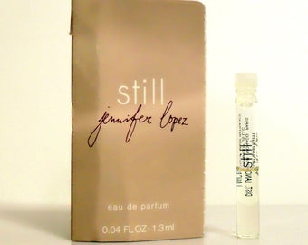 Still by Jennifer Lopez 0.04 oz Eau de Parfum Sample Vial on Card PERFUME