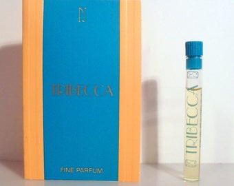 Vintage 1980s Tribecca by Paul Sebastian Fine Parfum Sample Vial on Card PERFUME