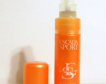 Vintage 1990s Escada Sport Spirit by Escada 0.16 oz Eau Sans Alcohol Spray Sample Vial PERFUME