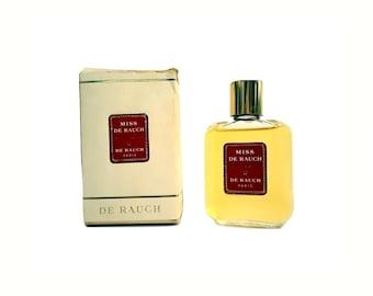 Vintage Perfume 1960s Miss de Rauch by Madeleine de Rauch 2 oz Eau de Toilette Splash & Box Rare Discontinued Women's Fragrance