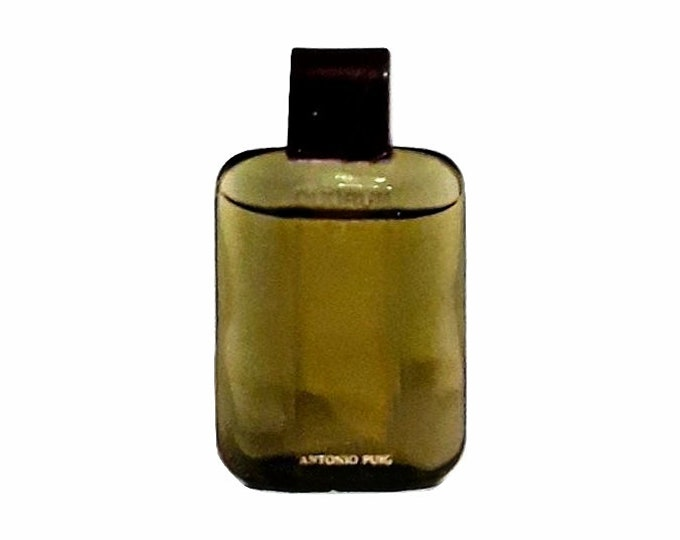Vintage 1980s Quorum by Antonio Puig 0.2 oz Eau de Toilette Mini Miniature Cologne