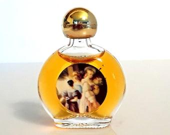 Vintage 1990s Bal a Versailles by Jean Desprez 0.17 oz (5ml) Eau de Toilette Splash Mini Perfume Miniature Bottle