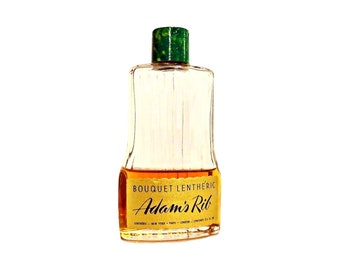 Vintage 1950s Adam's Rib by Lentheric 3.5 oz Bouquet Lentheric Cologne Splash CLEARANCE PERFUME