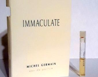 Immaculate by Michel Germain Eau de Parfum Sample Vial on Card