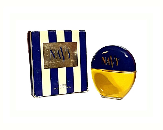 Vintage Navy Perfume by Dana 1.5 oz Cologne Splash 1990s Formula