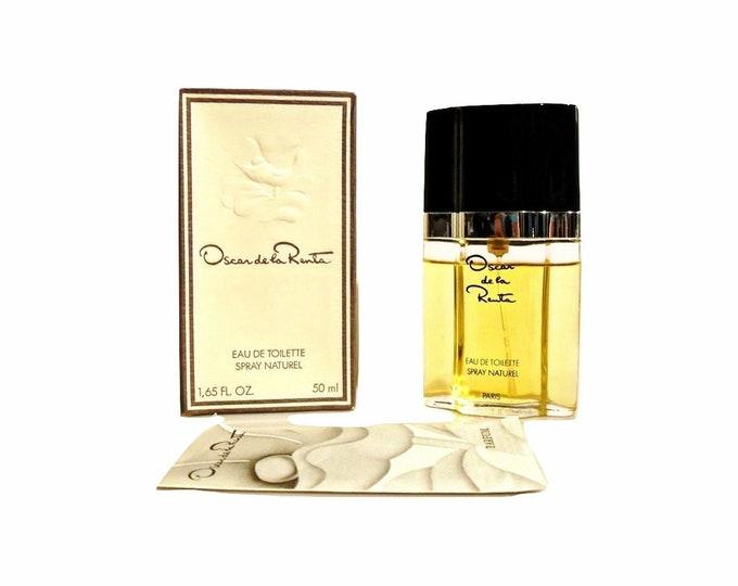 Vintage Oscar Perfume by Oscar de la Renta 1.65 oz Eau de Toilette Spray 1980s Formula