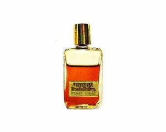Vintage 1970s Ultima by Revlon 0.25 oz (7.5ml) Eau de Parfum Splash Mini Miniature PERFUME