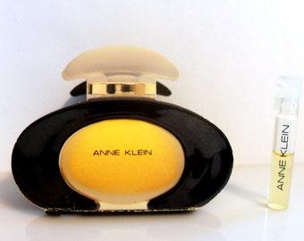 Vintage 1980s Anne Klein 0.02 oz Parfum Sample Vial on Card PERFUME