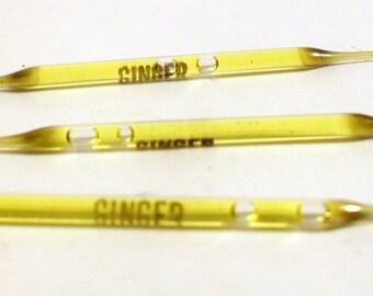 Vintage 1950s Ginger by Hula Lei Ltd Perfume Nip Sample Vial