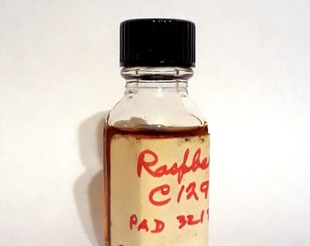 Vintage 1970s 12ml Raspberry Fragrance PERFUME BASE Accord Creation Essential Oil Perfumery Making