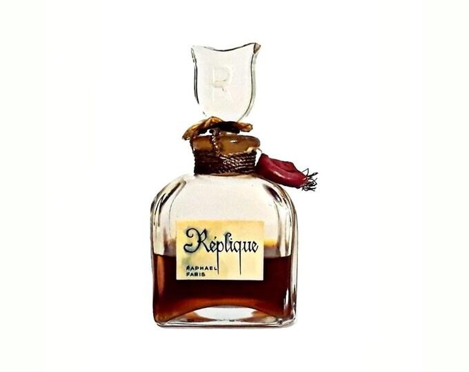 Vintage Replique by Raphael Perfume 1 oz (30ml) Pure Parfum Splash 1960s Discontinued
