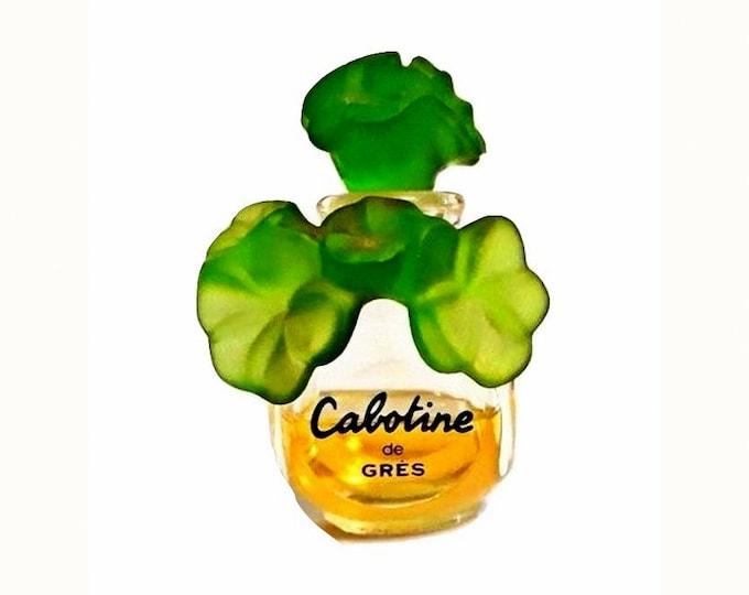 Vintage Cabotine by Gres Perfume 1 oz (30ml) Eau de Parfum Splash 1990s Formula