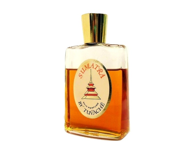 Vintage 1960s Sumatra by Tuvache 4 oz Skin Perfume Splash Parfum DISCONTINUED