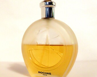 Vintage 1990s Globe by Rochas 3.4 oz Eau de Toilette Spray MEN'S COLOGNE