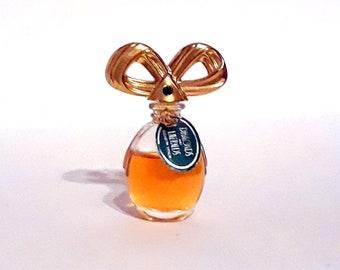 Vintage 1990s Diamonds and Emeralds by Elizabeth Taylor 0.12 oz Parfum Mini Miniature PERFUME