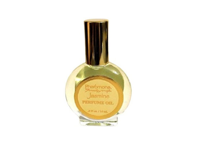 Vintage Pheromone Jasmine by Marilyn Miglin 0.5 oz Perfume Oil Splash