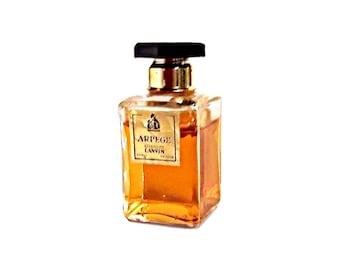 Vintage 1960s Arpege by Lanvin 0.5 oz (15ml) Pure Parfum Perfume Bottle PERFUME