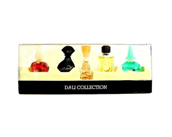 Vintage 1990s Salvador Dali Miniature Perfume Mini Cologne YOUR CHOICE