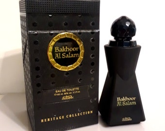 Vintage Bakhoor Al Salam by Nabeel 3.4 oz Eau de Toilette Spray and Box PERFUME
