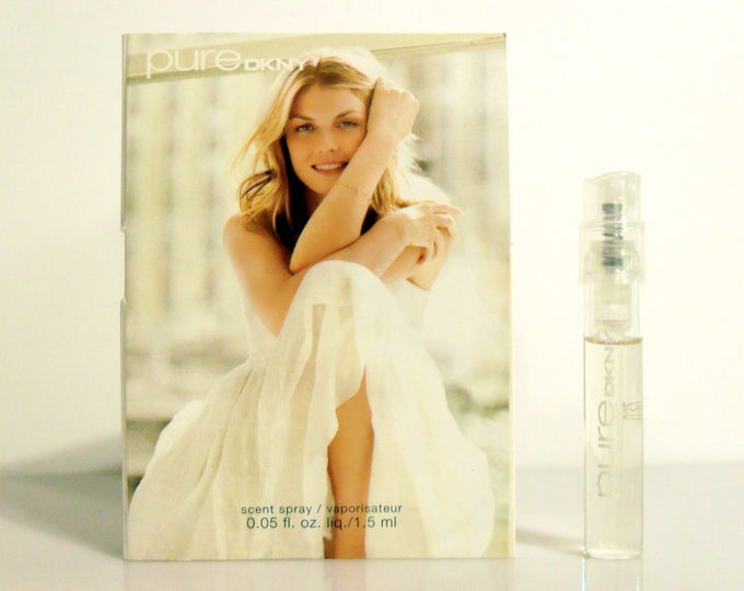 DKNY Pure by Donna Karan 0.05 oz Eau de Parfum Scent Spray Sample Vial on Card PERFUME