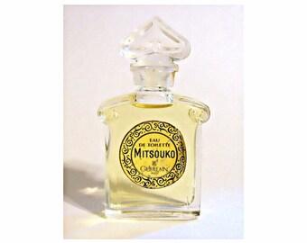Vintage 1990s Mitsouko 0.17 oz Eau de Toilette Miniature Mini PERFUME