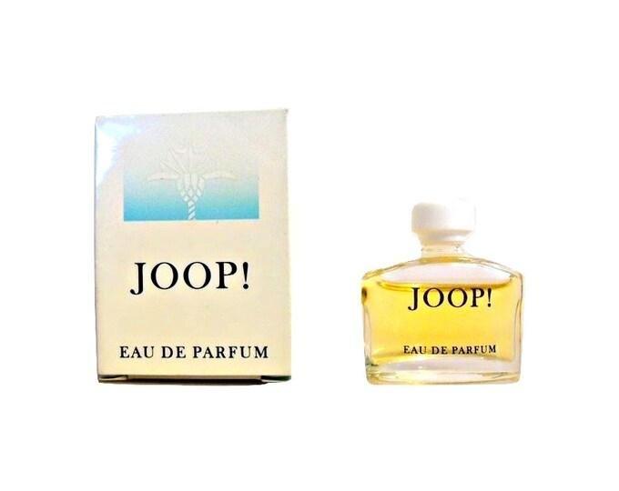 Vintage 1980s JOOP Femme by JOOP 0.17 oz Eau de Parfum Mini Miniature Perfume and Box