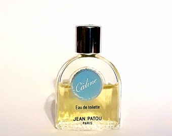 Vintage 1980s Caline by Jean Patou 0.20 oz Eau de Toilette Mini Miniature DISCONTINUED PERFUME