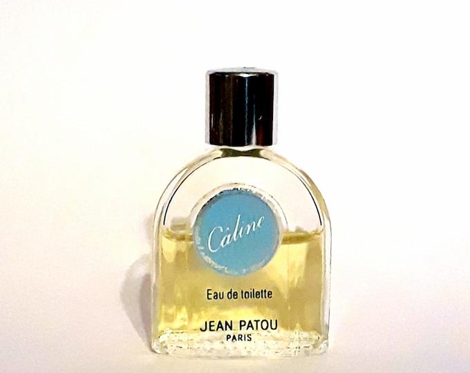 Vintage 1980s Caline by Jean Patou 0.20 oz Eau de Toilette Mini Miniature DISCONTINUED PERFUME